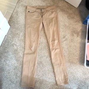 AG Khaki Skinny Pants